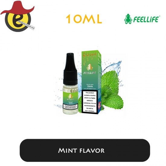 Feellife e-liquid Mint flavor  10ML x 10PCS