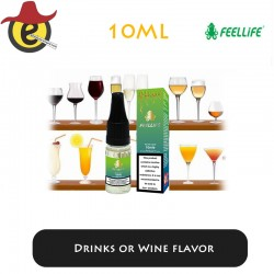Feellife e-liquid Drinks or Wine flavor  10ML x 10PCS