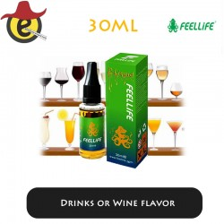 Feellife e-liquid Drinks or Wine flavor  30ML x 10PCS
