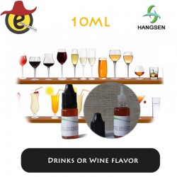 Hangsen e-liquid Drinks or Wine flavor  10ML x 10PCS