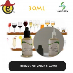 Hangsen e-liquid Drinks or Wine flavor  30ML x 10PCS